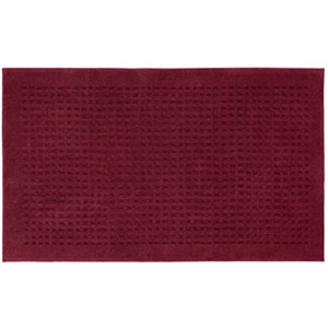Casual Solid Cabernet Rectangular: 3 Ft. x 5 Ft.