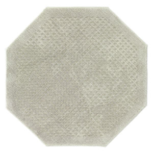 Casual Solid Sage Octagonal: 4 Ft. x 4 Ft.