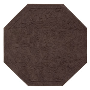 Casual Chocolate Octagonal: 4 Ft. x 4 Ft.