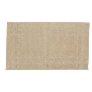 Casual Border Oatmeal Rectangular: 1 Ft. 8 In. x 2 Ft. 10 In. Rug