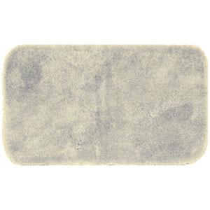 Casual Solid Vanilla Rectangular: 2 Ft. x 5 Ft. Bath Mat