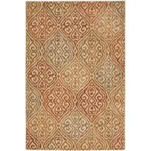 Heritage Etchings Light Camel Rectangular: 5 Ft. 3 In. x 7 Ft. 10 In. Rug