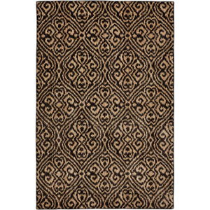 Heritage Etchings Ashen Rectangular: 5 Ft. 3 In. x 7 Ft. 10 In. Rug
