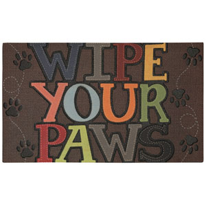 Wipe Your Paws Rectangular: 1 Ft. 6-Inch x 2 Ft. 6-Inch Rug