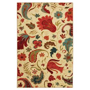 Strata Tropical Acres Rectangular: 8 Ft. x 10 Ft. Rug