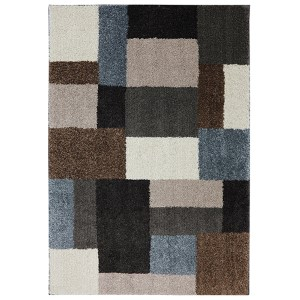 Franklin Multicolor Rectangular: 3 Ft 4 In x 5 Ft 6 In Rug
