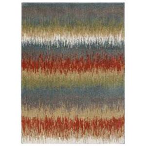 Color Splash Walnut Rectangular: 5 Ft. x 7 Ft. Rug
