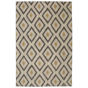 Tribal Diamond Tan Rectangular: 5 Ft. x 8 Ft. Rug