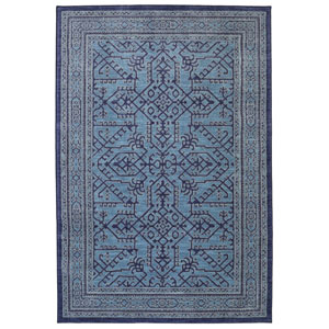Barrow Blue Rectangular: 3 Ft. 5-Inch x 5 Ft. 2-Inch Rug