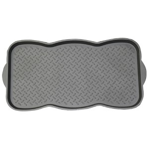 Black Rectangular: 1 Ft 3 In x 2 Ft 5.5 In Boot Tray