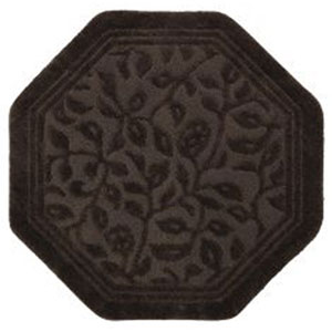 Wellington Chocolate Octagon: 4 Ft. x 4 Ft. Rug