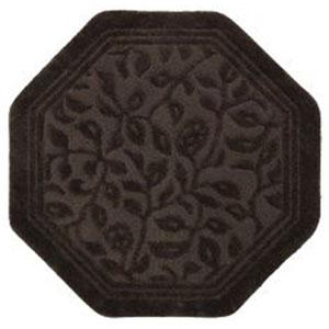 Wellington Chocolate Octagon: 4 Ft. x 4 Ft. Rug