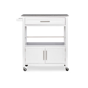 Josiah White Kitchen Cart with Granite Top