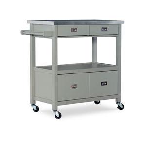 Eden Gray Kitchen Cart