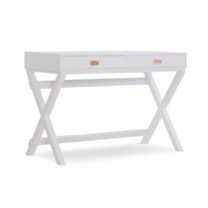 Paige White Writing Desk
