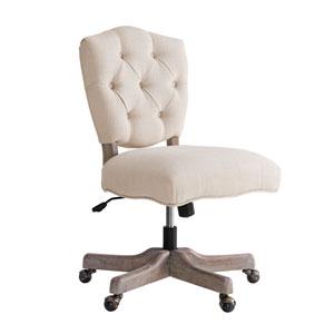 Amir White Office Chair