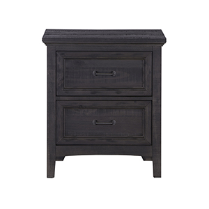 Mill River 2 Drawer Nightstand