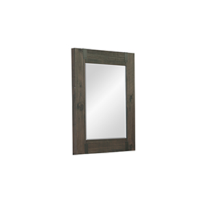 Abington Portrait Mirror in Weathered Charcoal
