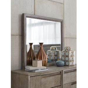 Atelier Nouveau Grey And Palladium Wood Landscape Mirror