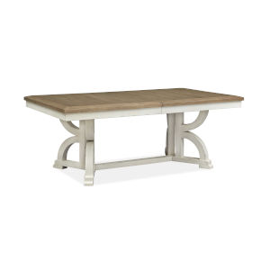 Hutcheson White Rectangular Dining Table