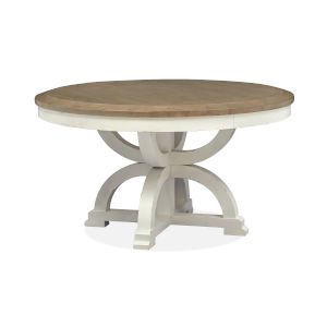 Hutcheson White Round Dining Table