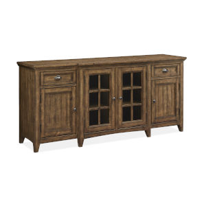Bay Creek 70-Inch Brown Entertainment Console