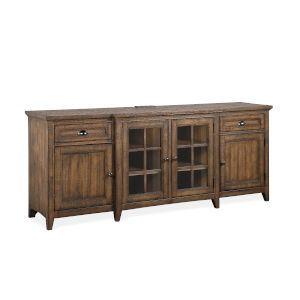 Bay Creek 80-Inch Brown Entertainment Console