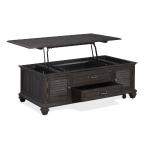 Calistoga Weathered Charcoal Cocktail Table