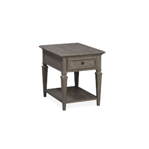 Lancaster Dove Tail Grey End Table