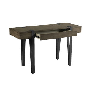 Mavrick Foundry Grey Sofa Table