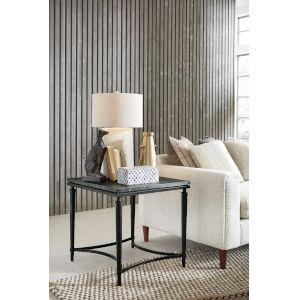 Waylon Gray Rectangular End Table