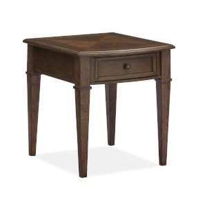 Wilton Mocha Rectangular End Table