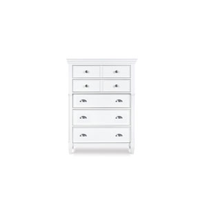 Kasey Wood Five Drawer Chest