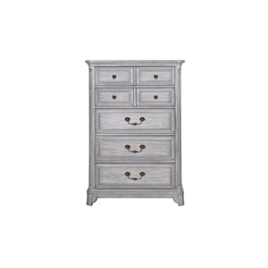 Windsor Lane 5 Drawer Chest in Weathered Grey