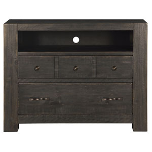 Easton 2 Drawer Media Chest in Dark Chocolate