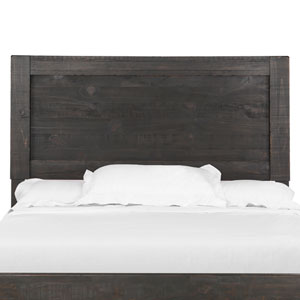 Easton Panel Bed Headboard in Dark Chocolate - King