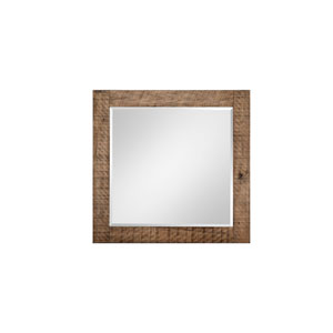 Griffith Landscape Mirror in Weathered Toffee