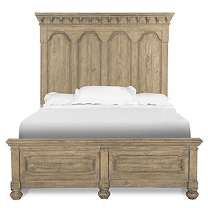 Graham Hills Complete Queen Panel Bed in Cracked Wheat