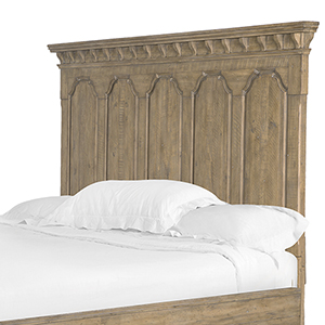 Graham Hills King Panel Bed Headboard in Cracked Wheat