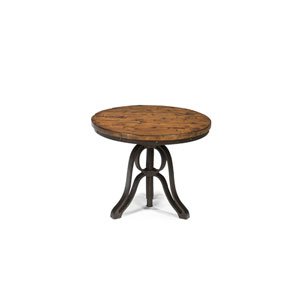 Cranfill Aged Pine Round End Table