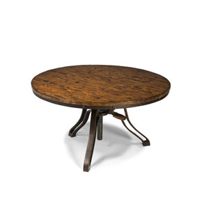 Cranfill Aged Pine Round Cocktail Table