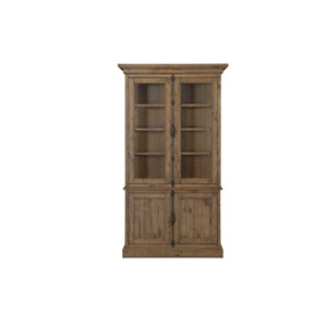 Willoughby China Cabinet in Weathered Barley