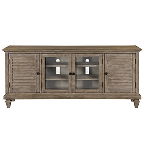 Lancaster Rustic Dovetail Grey Entertainment Console