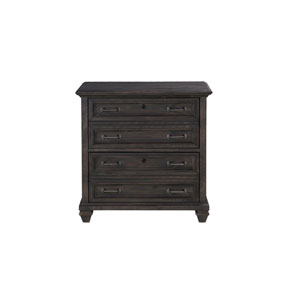 Sutton Place Lateral File in Weathered Charcoal