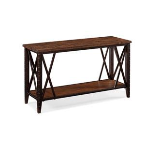 Fleming Wood and Metal Rectangular Sofa Table