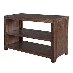 Caitlyn Distressed Natural Sofa Table