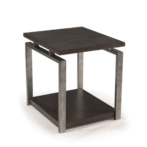 Alton Platinum Charcoal End Table