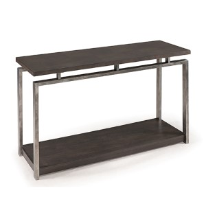Alton Platinum Charcoal Sofa Table