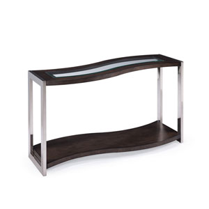 Lynx Wood Rectangular Sofa Table