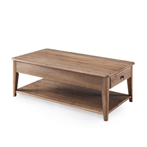 Baytowne Rectangular Lift Top Cocktail Table with casters